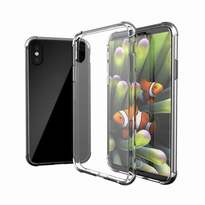 iPhone X TPU+PC shockproof phone case with air pod